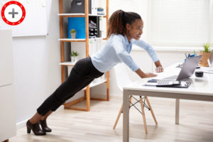 FUN AND EASY WAYS TO BURN CALORIES AT WORK